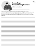 Free-Writing Journal Pages (Stream-of-Consciousness Creati