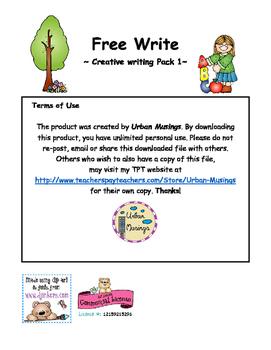 Free Writing Pack 1