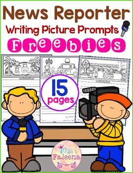 Free Writing Picture Prompts - News Reporter