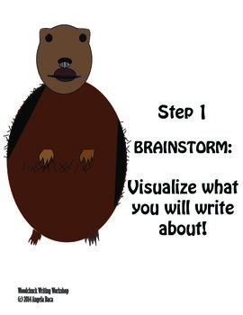 Free Writing Poster - Brainstorming