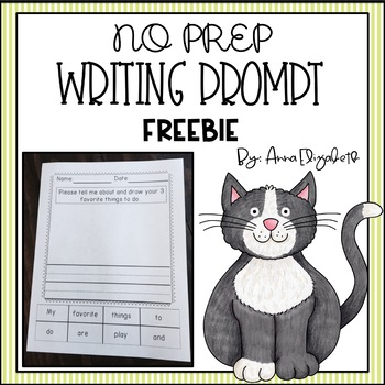 Free Writing Prompt (1st or 2nd grade)