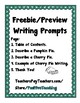 Writing Prompts - Picture Prompts - Freebie