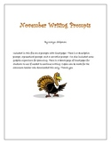 Free Writing Prompts for November
