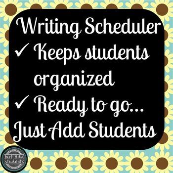 Free Writing Scheduler