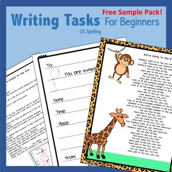 Free Writing Activities for Beginners US
