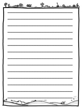 Free Writing Paper and Editing Sheet