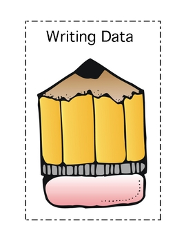 Free Writing and Spelling Graphs for Data Binders and/or Portfolios