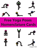 Free Yoga Poses Nomenclature Cards