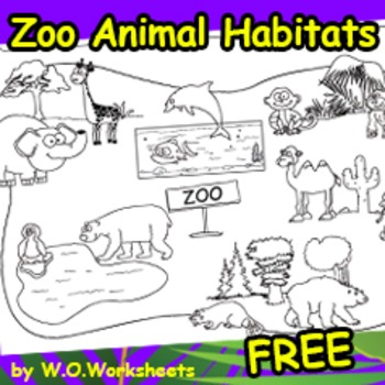 Habitats - Animals Free