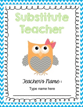 Free and Editable Owl Binder Covers