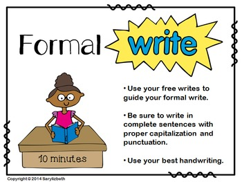 Free and Formal Summary Writing