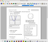 Free and Open Source Math worksheet software