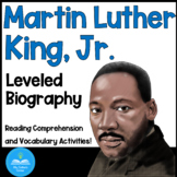 Free at last! - a Differentiated biography about MLK - Distance Learning