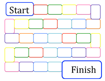 Free blank game board