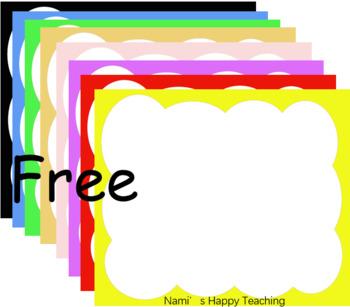 Free boarders frames