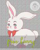 Free Easter bunny Clipart