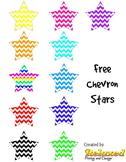 Free chevron stars