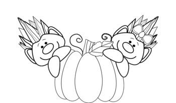 Free clip art:  Trolls like pumpkins -  Clip art gratuit