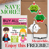 Free clip art by Revidevi - Christmas monsters