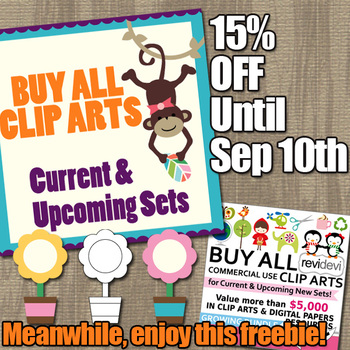 Free clip art sample and Sale for Bundle Buy Everything From Revidevi Store