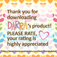 Free clipart resource for teachers - labels rainbow colors