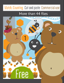 Free download packet of engaging activities with bears and