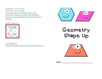 Geometry Shape Up Booklet