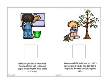 """""""Springtime Chores Interactive Book"""""""