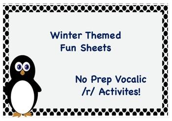 Winter Fun With Vocalic /r/