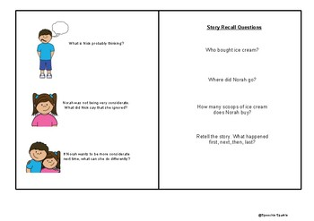 Social Stories / Cartoons for Social Thinking - The Adventures of Nick & Norah