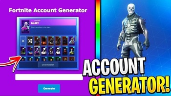 Free fortnite account generator - get fortnite accounts for free