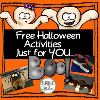 FREE Halloween Activities Just for YOU...BOO!