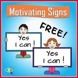 Free motivation signs