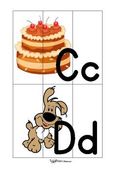 Free printable ABC Puzzles