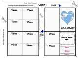 Free printable play passport  to go along with geography u