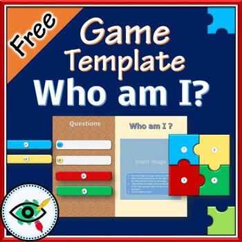 Free Puzzle Game Template By Efrat Fass Teachers Pay Teachers