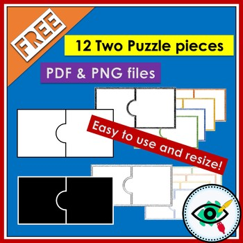 Free puzzle templates clip art
