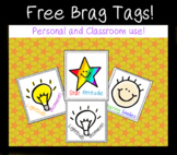 Free sample Brag Tags - Color and B&W