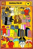 Clothing clip art for girls with Clothes for all Seasons