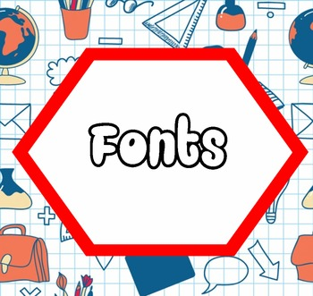Free sheet fonts