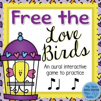 Free the Love Birds Aural Interactive Game {Ti Ta Ti}
