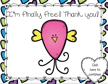 Free the Love Birds Aural Interactive Game {Ti-Tika}