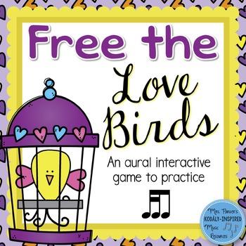 Free the Love Birds Aural Interactive Game {Tika-Ti}