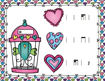 Free the Love Birds Aural Interactive Games {8-Game Rhythm Bundle}