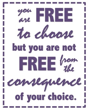 Free To Choose Poster By Kaitie S Creations Teachers Pay Teachers