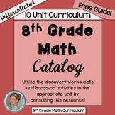 Free to Discover 8th Grade Math Catalog