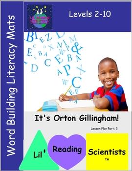 Word Building Literacy Mats (OG)