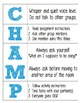 Free!CHAMPS for Music Classroom Management