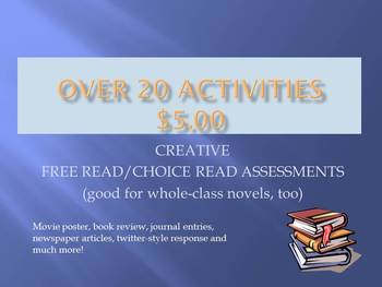 Free/Choice Read Assignments