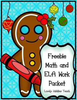 Freebie: Math and ELA Mini Packet
